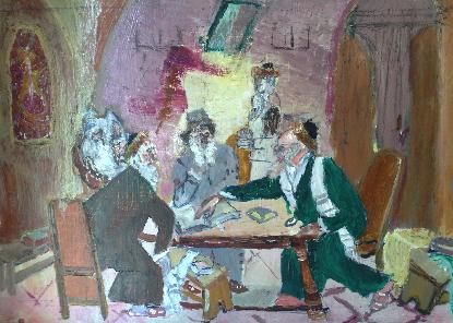 Nuit d'étude, par Jean Ochs, D.R.