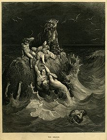 220px-Gustave_Doré_-_The_Holy_Bible_-_Plate_I,_The_Deluge