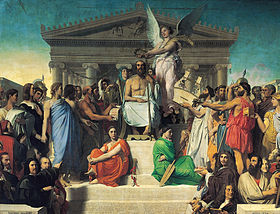 280px-Jean_Auguste_Dominique_Ingres,_Apotheosis_of_Homer,_1827